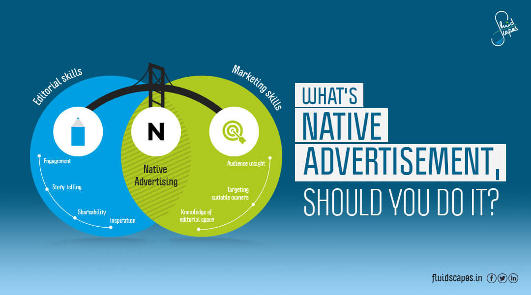 What's native advertisement, should you do it?